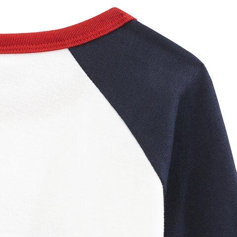 Petit Bateau Pyjamas 2-delar Blå   Vit 975bbf02e9cde