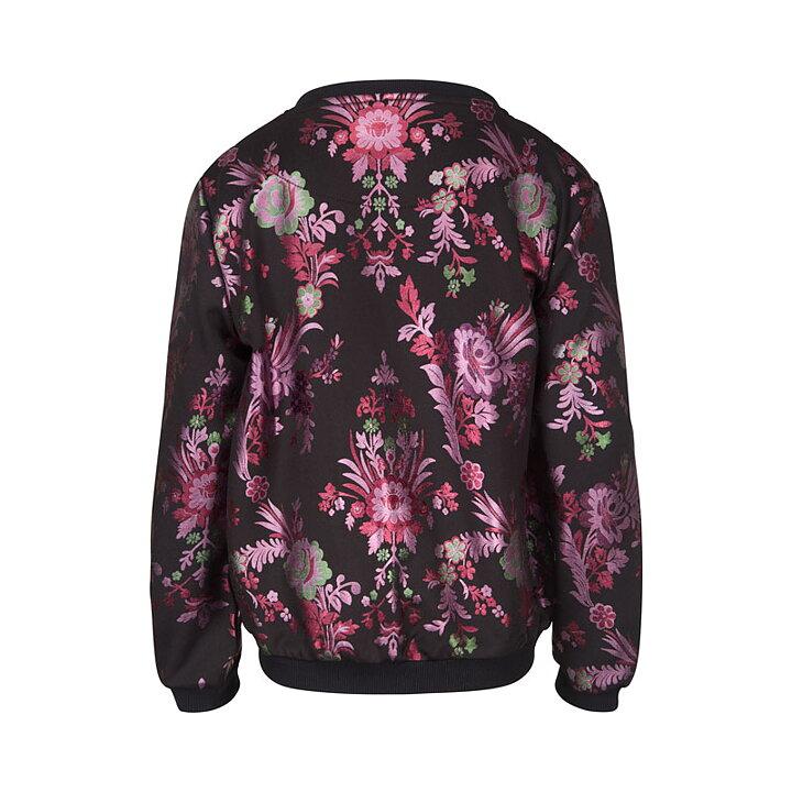 21697fa5f305 Petit by Sofie Schnoor Jacket Flower Black - FreshMilk Children s ...