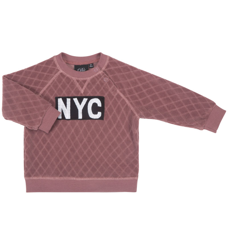d57ac5fe318 Petit by Sofie Schnoor Sweatshirt Quilted NYC Purple - 3. Next. Previous