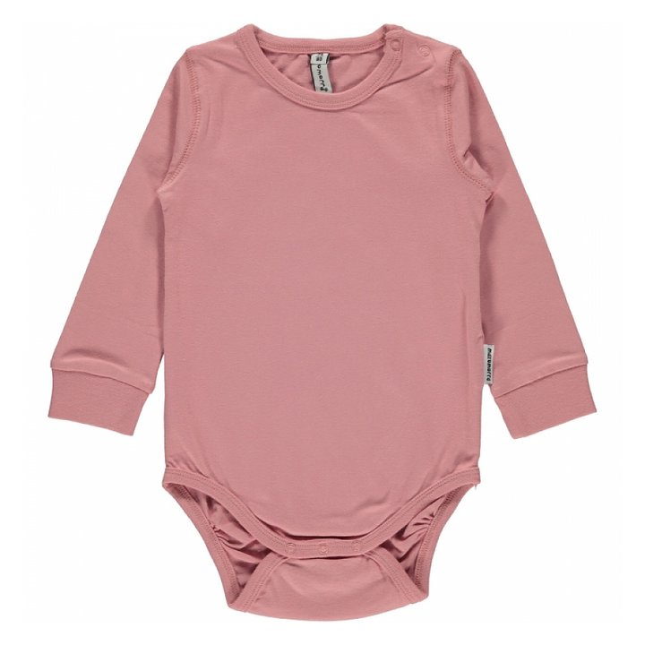 f1ac0df14d0 Maxomorra Body Long Sleeve Dusty Pink