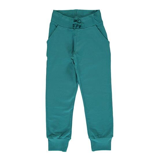 1838372d63adef Maxomorra Sweatpants Soft Petrol - FreshMilk Children's Clothing