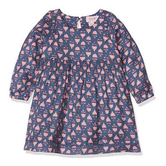 86f5fd44594 Noa Noa Dress Long Sleeve Vintage Indigo - FreshMilk Children's Clothing
