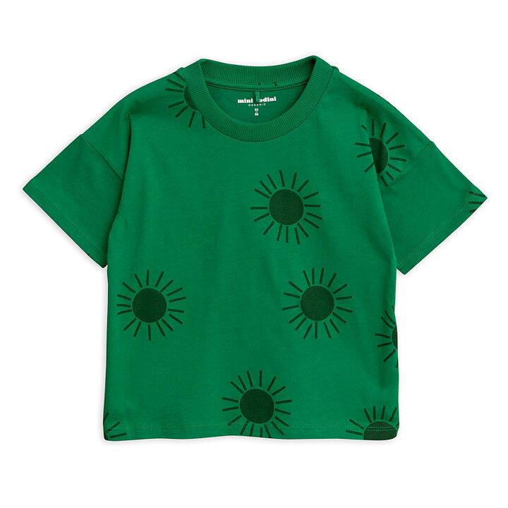 Mini Rodini T-Shirt Kortärmad AOP Sun Grön - FreshMilk Barnkläder ... 28cc5e600aaf6