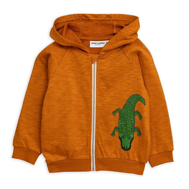 9317cf9f6a4 Mini Rodini Hood Zip SP Crocco Brown - FreshMilk Children's Clothing
