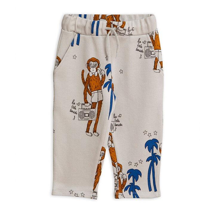 Mini Rodini Mjukbyxor AOP Cool Monkeys Grå - FreshMilk Barnkläder ... 5d19874776a9a