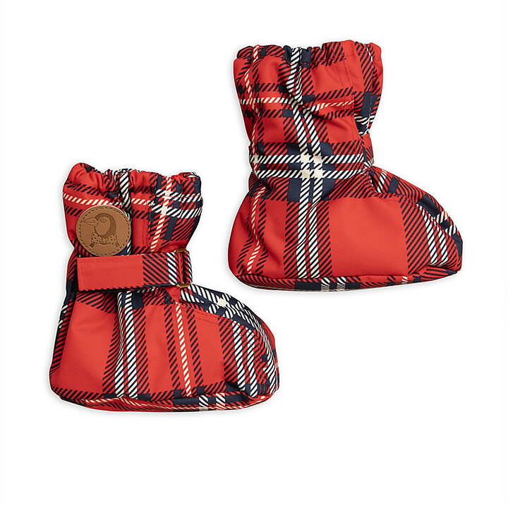 ed7ad636274b Mini Rodini Boot Baby Alaska Check Red - FreshMilk Children s Clothing