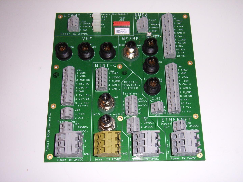 Sailor Connection Board For Console 6000 Cordland Marine Ab
