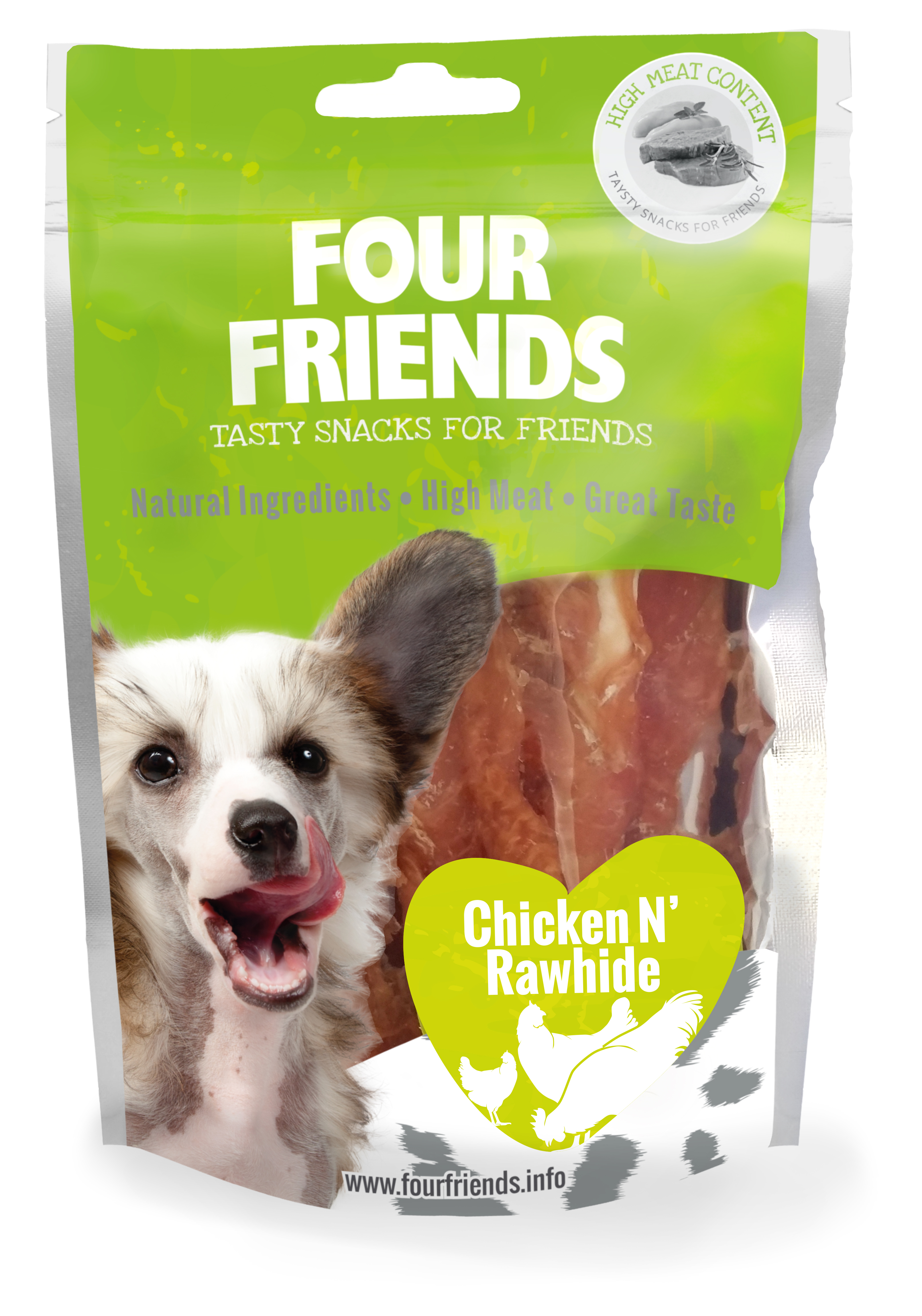 Eskilstuna HundCenter AB - Four Friends Dog Chicken ´N Rawhide  122614e440a97