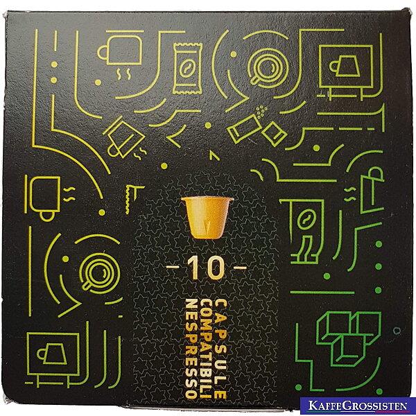 Nespresso Capsules Mokaflor Brasile Nespresso Portioned Coffee