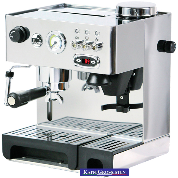 la pavoni domus bar pid coffee machine with grinder. Black Bedroom Furniture Sets. Home Design Ideas