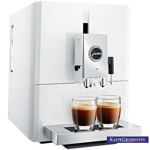 jura a7 ultra compact coffee machine great coffee. Black Bedroom Furniture Sets. Home Design Ideas