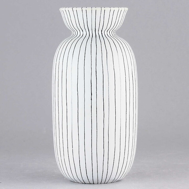 Stig Lindberg Filigran 1951 Swelling Striped Vase