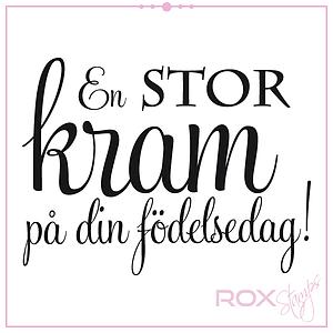 födelsedag Ljuva Änglar   ROX STAMPS  En STOR kram på din födelsedag födelsedag