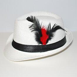 Hatt EVENING vit svart bfd1b41b6c1f5