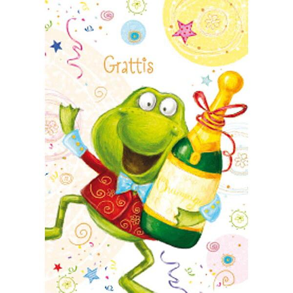 bilder grattis Gratulationskort mini Grattis 2   Slipskungen bilder grattis