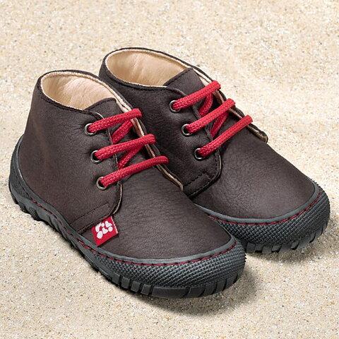 3bb5d279489 Leon - Ekologiska barfota skor med snörning från Pololo - Espresso