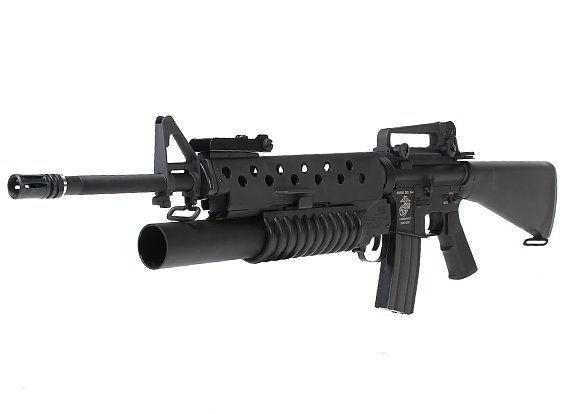 g p m16a3 with m203 grenade launcher tactical store paintball