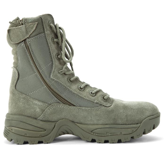 Mil-Tec Tactical Boot Two de Zip Foliage, Gris
