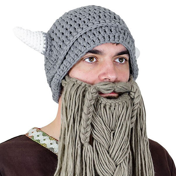 Knitted Viking Hat With Beard Tactical Paintball Airsoft bc319522bbc