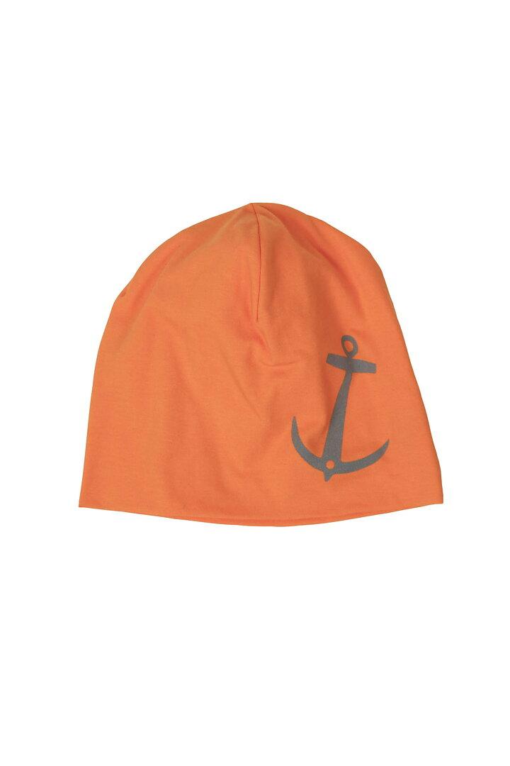 8f35874e24c EM Anchor Beanie Orange Reflective - emmamalena.com