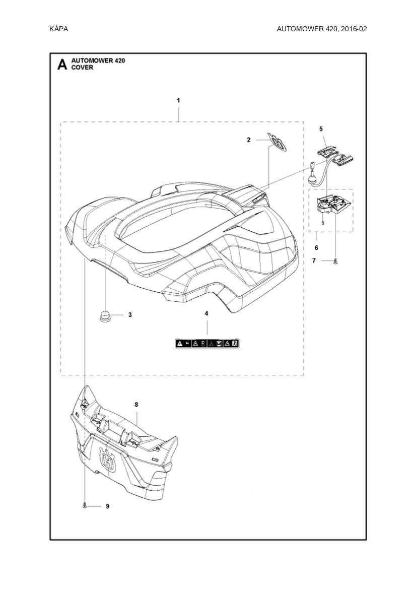 kablage med laddbleck till husqvarna automower gardena sileno gplshop. Black Bedroom Furniture Sets. Home Design Ideas