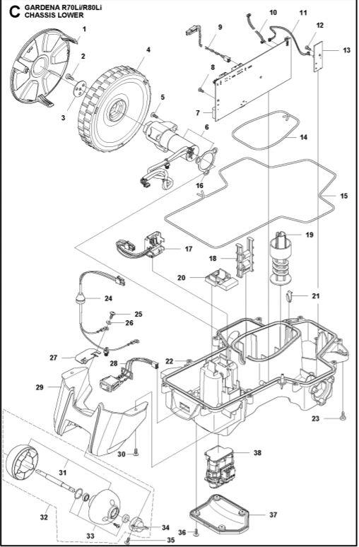 katkaisin on off husqvarna automower gardena sileno gplshop. Black Bedroom Furniture Sets. Home Design Ideas