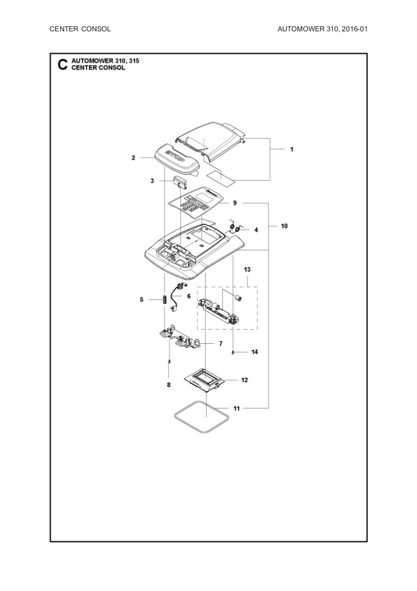 display pcba 2 1 husqvarna automower gardena sileno gplshop. Black Bedroom Furniture Sets. Home Design Ideas