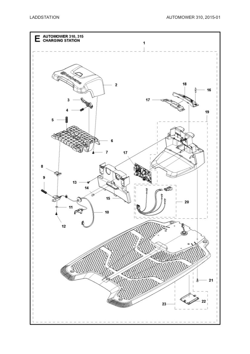 lid charging station for husqvarna automower and gardena sileno gplshop. Black Bedroom Furniture Sets. Home Design Ideas