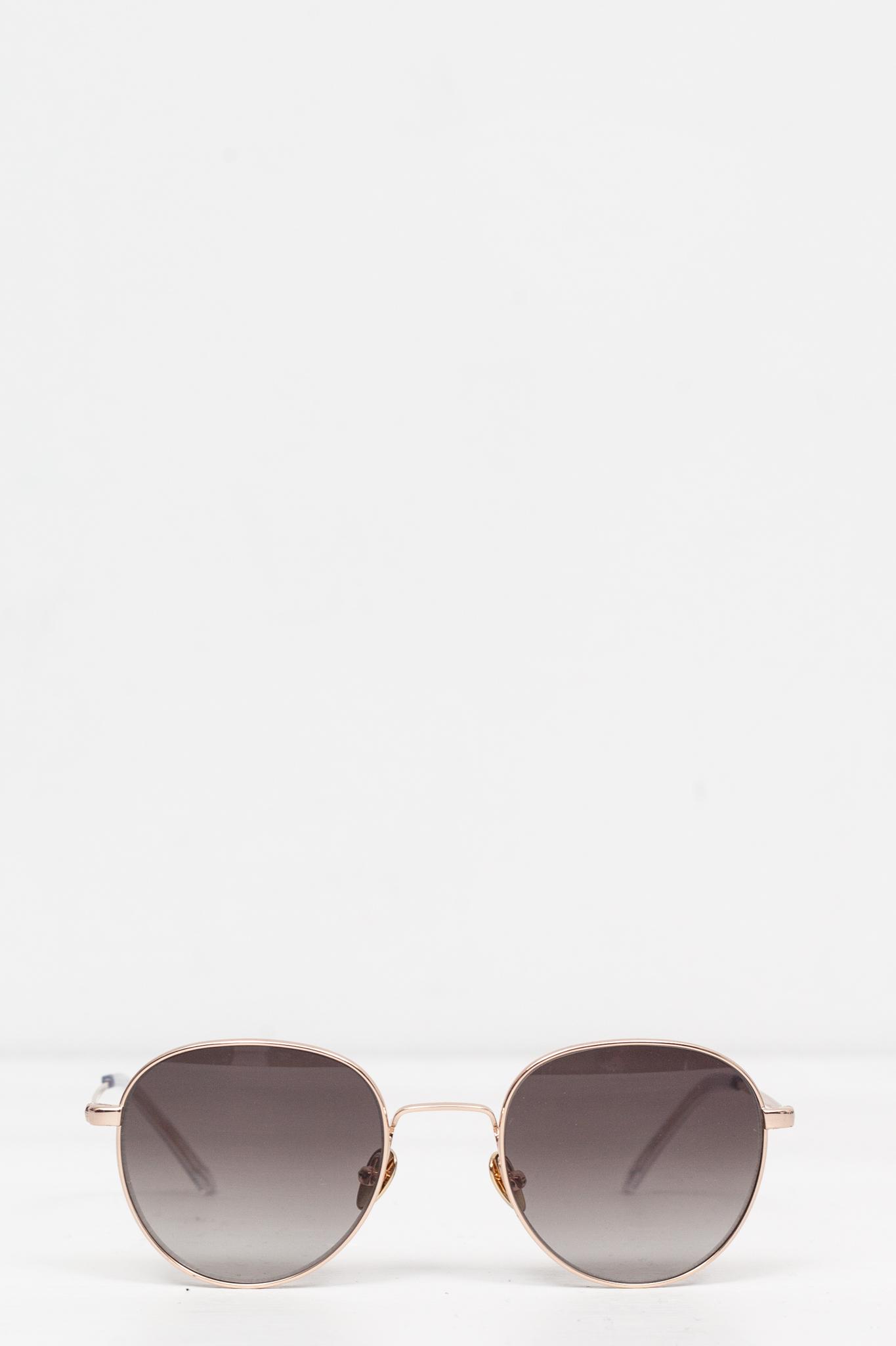 8255ae2151 Monokel Eyewear - Rio Gold Gradient Grey Lens - Meadow