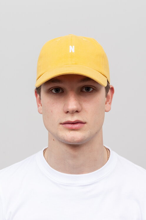 Norse Projects - Twill Sports Cap Sunwashed Yellow - Meadow f6f625ec0db