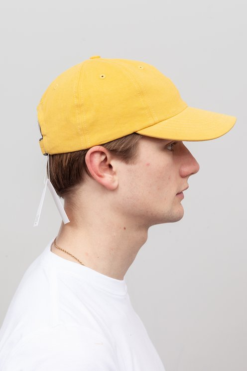 Norse Projects - Twill Sports Cap Sunwashed Yellow - Meadow 8b0e68915e2