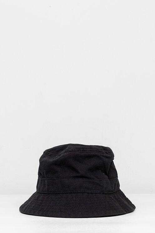 12d9e6617ad68 Corridor NYC - Black Canvas Bucket Hat - Meadow