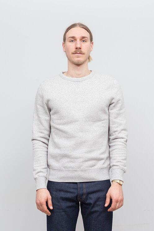 TWC The Workers Club - Super Soft Crew Neck Sweatshirt Grey - Meadow b6d11b747