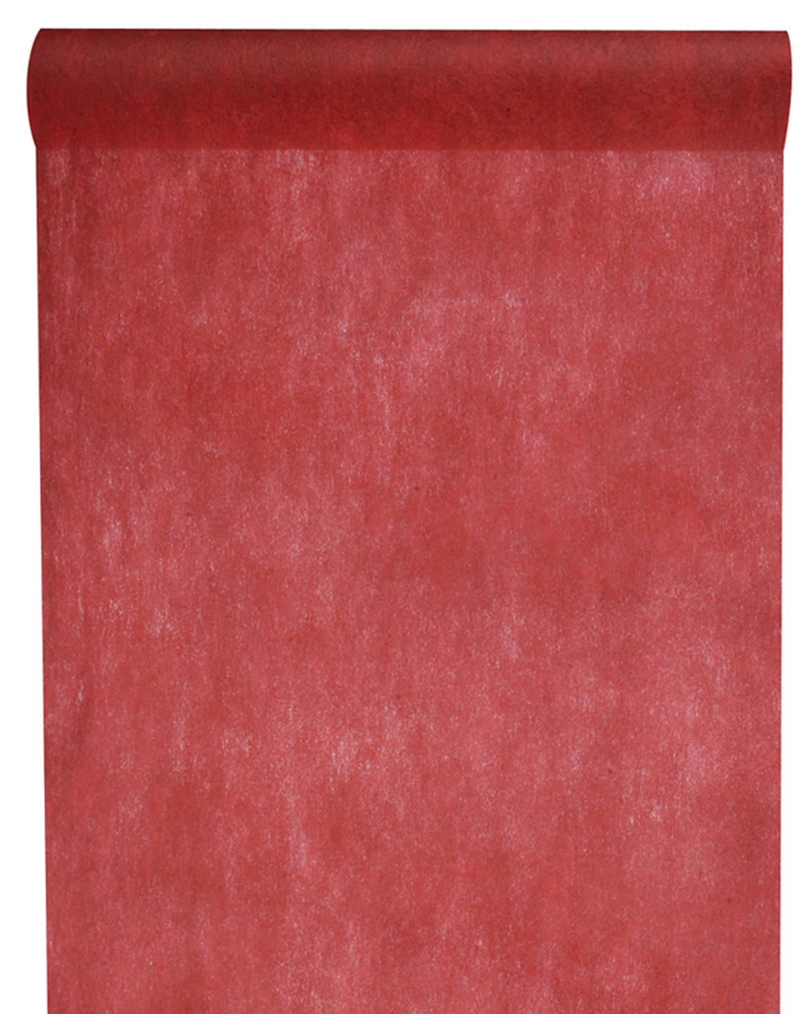 Table Runner 30 Cm *10 M Dark Red