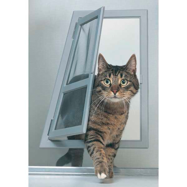 make cat door smaller than frame