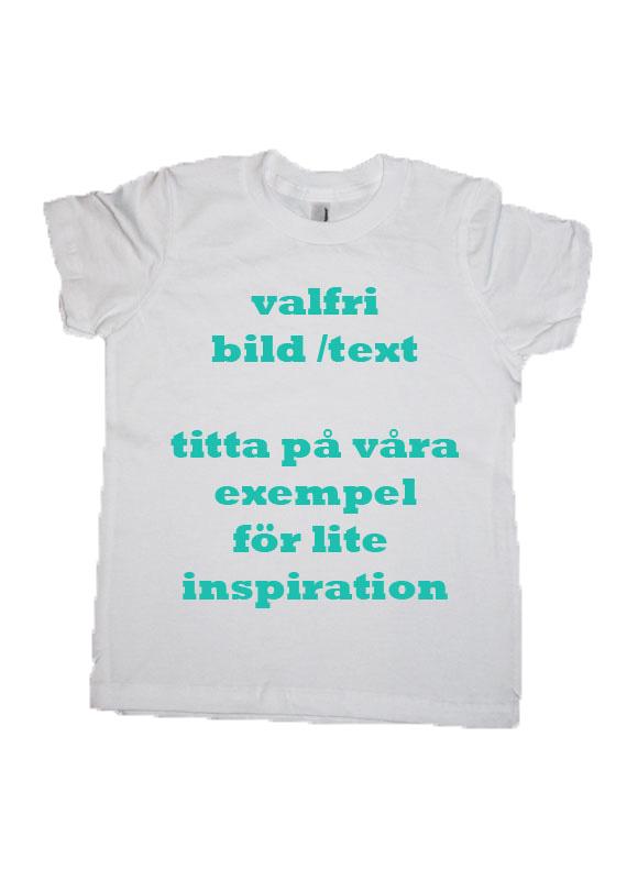 text på tröja