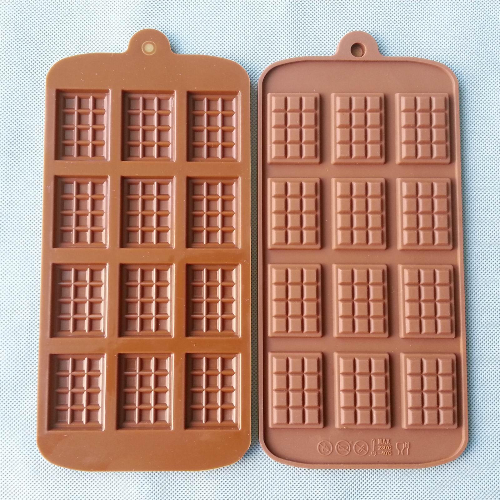 choklad i silikonform