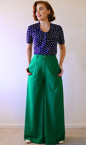 e755a9aeab4 Daisy Dapper - Pants   Jumpsuits in 50 s style