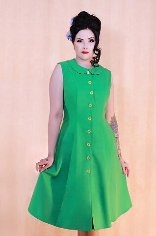 39b7be10e2e Daisy Dapper Collection Kajsa Dress Green