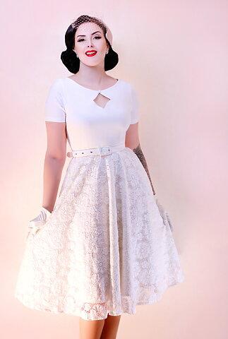 b284de20a6a Daisy Dapper Collection Dolly Dress White