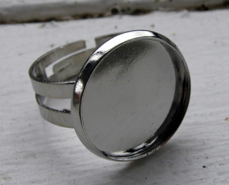 Ringstomme silverfärgad - Ram rund 16mm 284d6a2989647