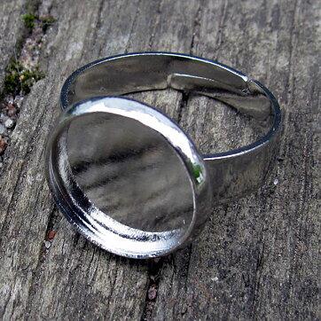 Ringstomme Silverfärgad - Ram rund 12mm 1a9bf1665fe9d