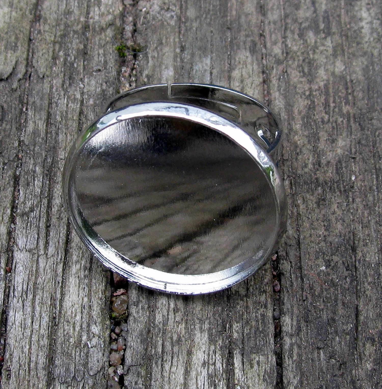 Ringstomme Silverfärgad - Ram rund 20mm 9127525baacf9