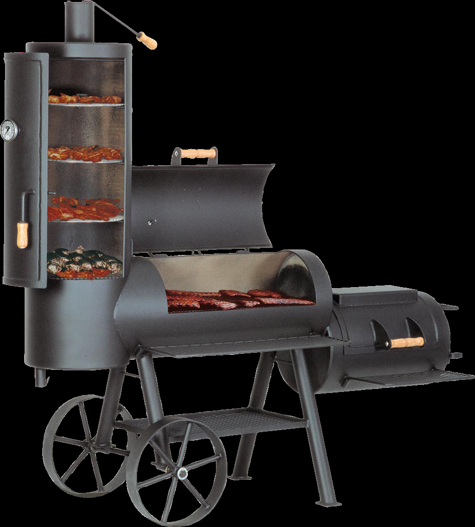 joe s barbeque smoker 20 joe s chuckwagon. Black Bedroom Furniture Sets. Home Design Ideas