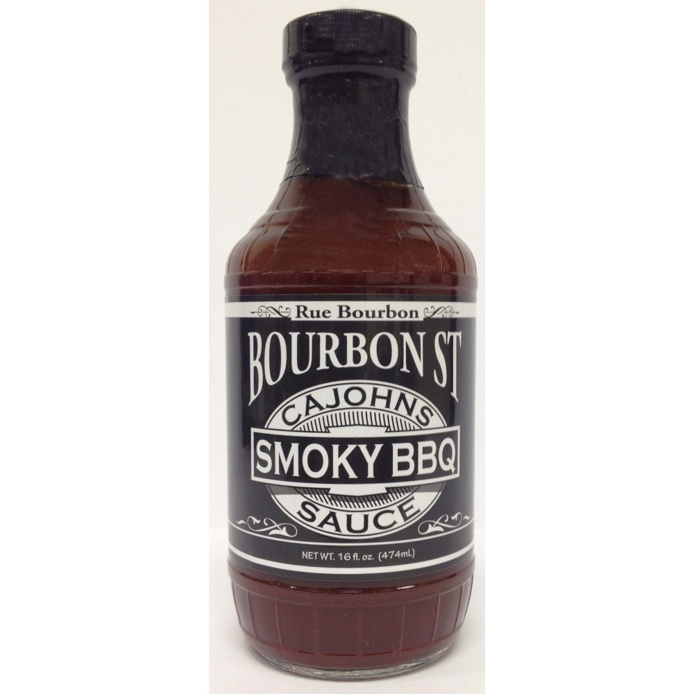 grillhouse.se - CaJohns Bourbon Street Smoky BBQ Sauce