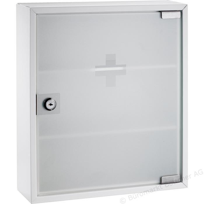 Förvara se Medicinskåp med glasdörr, låsbart, stort