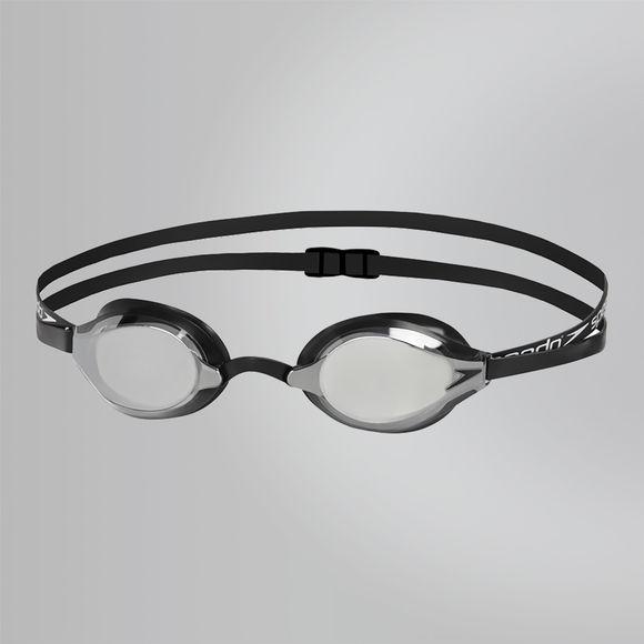 Simglasögon Speedsocket 2 mirror black SPEEDO - Simma.se - Allt för  simträningen 37829c1a9f1ec