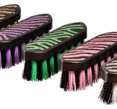 Manborste Zebra Glitter från Globus