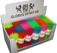 Borste, Stråborste färgglad fr Globus