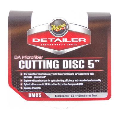 """Meguiars DMC5 DA Microfiber Cutting Disc 5"""" 125mm 2-Pack"""